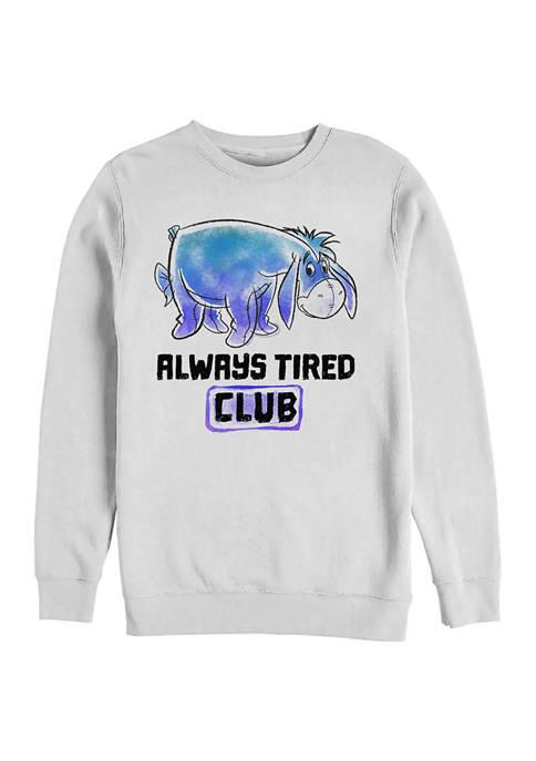 Disney® Eeyore Tired Club Crew Fleece Graphic Sweatshirt