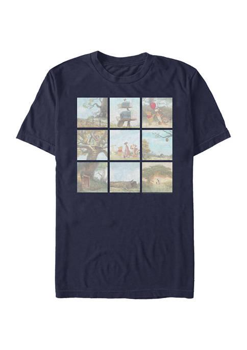 Disney® Pooh Scenes Short Sleeve Graphic T-Shirt