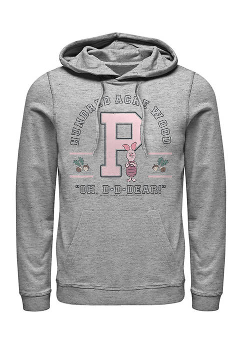 Disney® Piglet Collegiate Fleece Graphic Hoodie