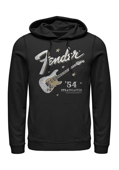 Fender Western Stratocaster Fleece Graphic Hoodie