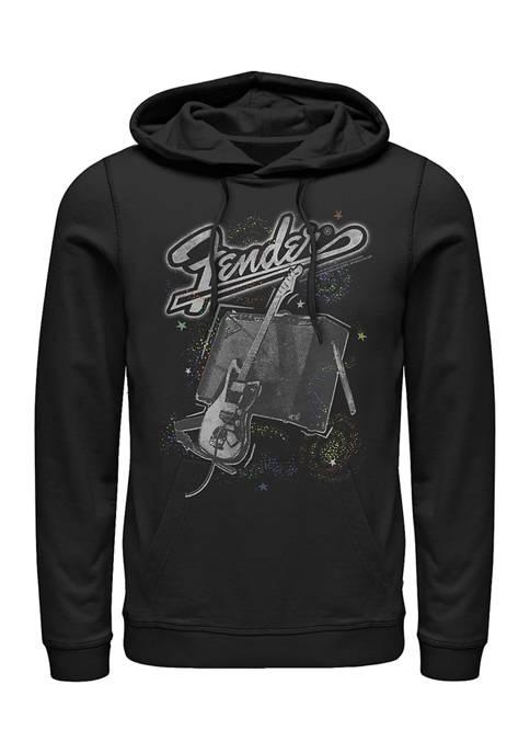 Space Fender Fleece Graphic Hoodie