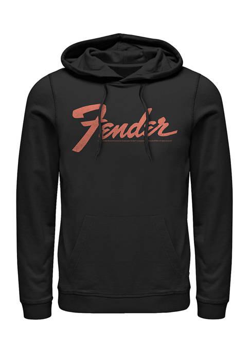 Fender Logo Fleece Graphic Hoodie