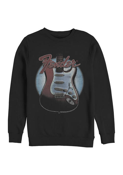 Fender Guitar Lockup Crew Fleece Graphic Sweatshirt