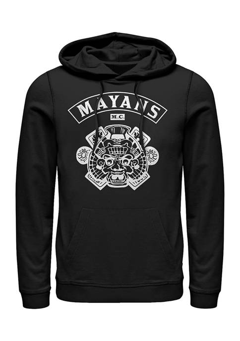 Fifth Sun™ Mayans Back Logo Graphic Fleece Hoodie