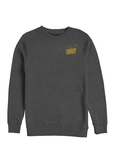Victory Royale Gold Graphic Crew Fleece Sweatshirt