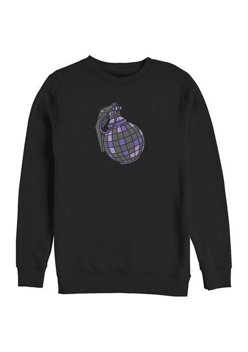 Fortnite Drop Bomb Graphic Crew Fleece Sweatshirt