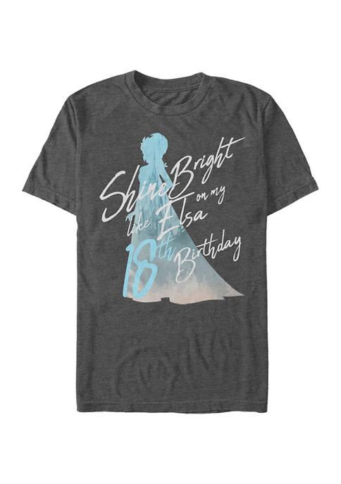 Birthday Queen Eighteen Graphic Short Sleeve T-Shirt