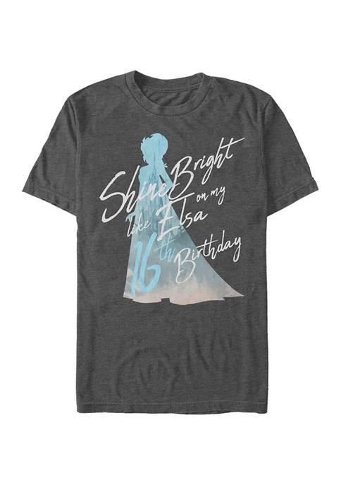 Disney® Birthday Queen Sixteen Graphic Short Sleeve T-Shirt