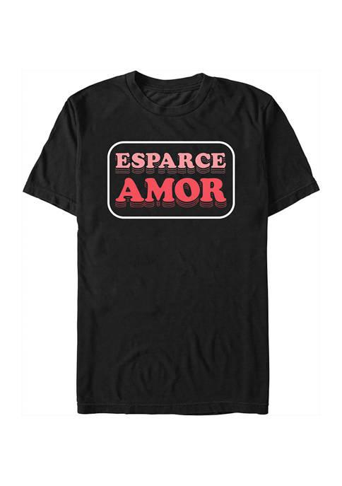 Generic Juniors Esparce Amor Graphic T-Shirt