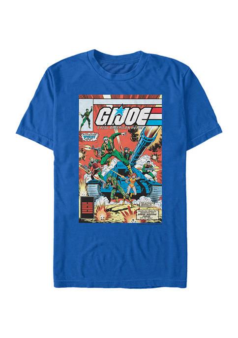 GI Joe Comic Poster Graphic T-Shirt