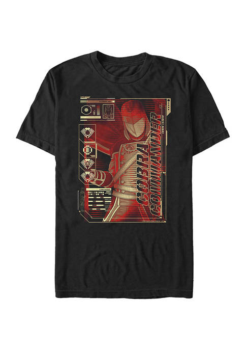 GI Joe Cobra Commander Graphic T-Shirt