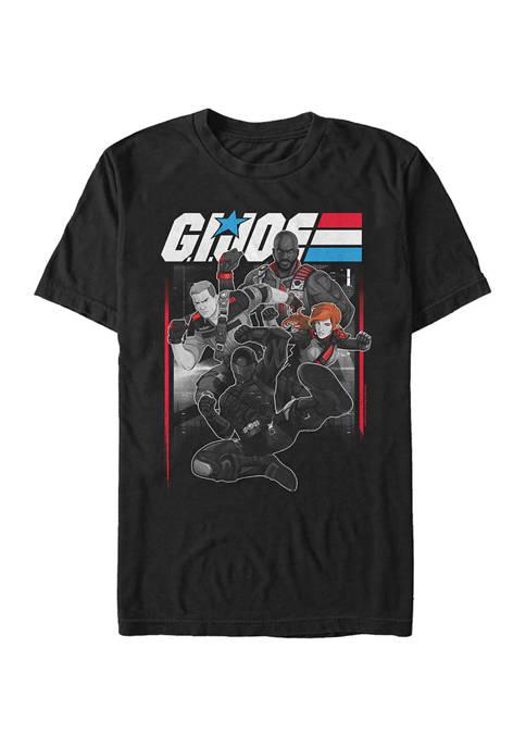 GI Joe Group Graphic T-Shirt