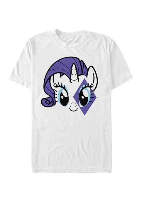 Rarity Face Graphic T-Shirt