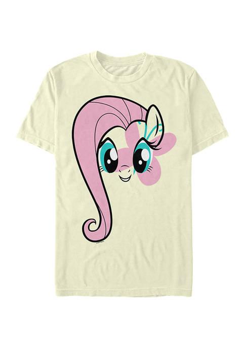 Fluttershy Face Graphic T-Shirt
