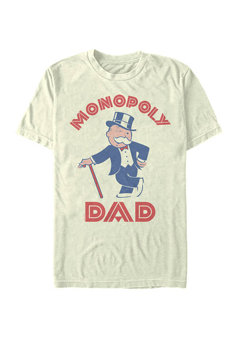 Monopoly Dad Graphic T-Shirt