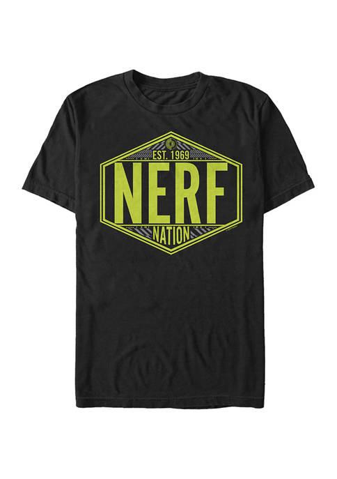 Nerf Nation Badge Graphic T-Shirt