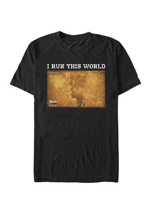 Fifth Sun™ I Run This World Graphic T-Shirt