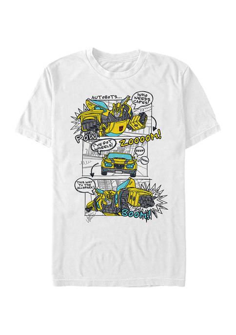 Fifth Sun™ Bumblee Comic Graphic T-Shirt
