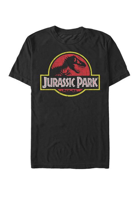 Jurassic Park Classic Dinosaur Logo Short Sleeve Graphic