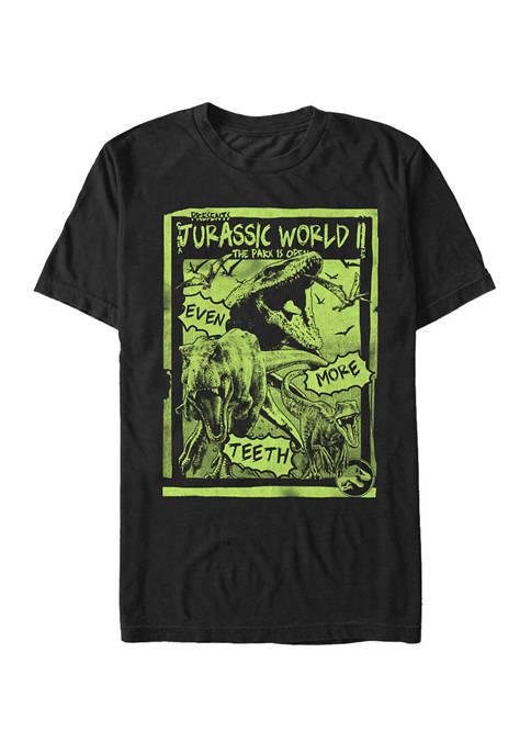Jurassic World Big & Tall T Rex Neon