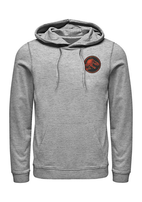 Jurassic World Magma Pocket Graphic Fleece Hoodie