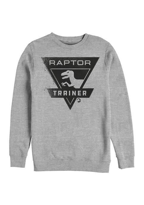 Jurassic World Raptor Trainer Crew Fleece Graphic Sweatshirt