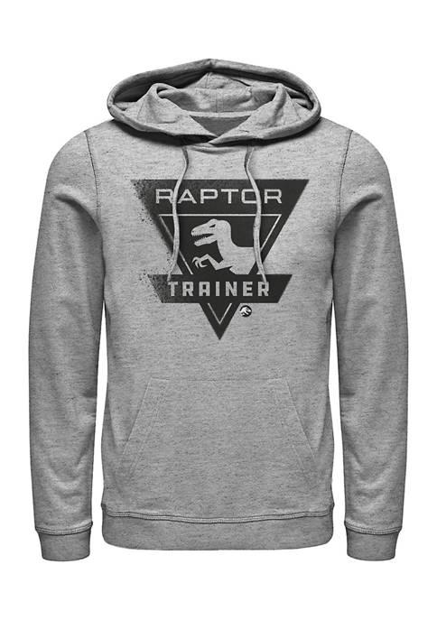 Jurassic World Raptor Trainer Graphic Fleece Hoodie