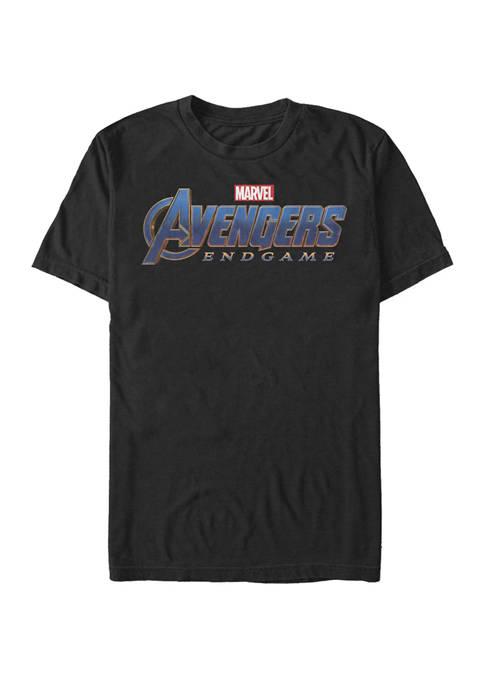 Marvel™ The Avengers Endgame Movie Logo Short Sleeve
