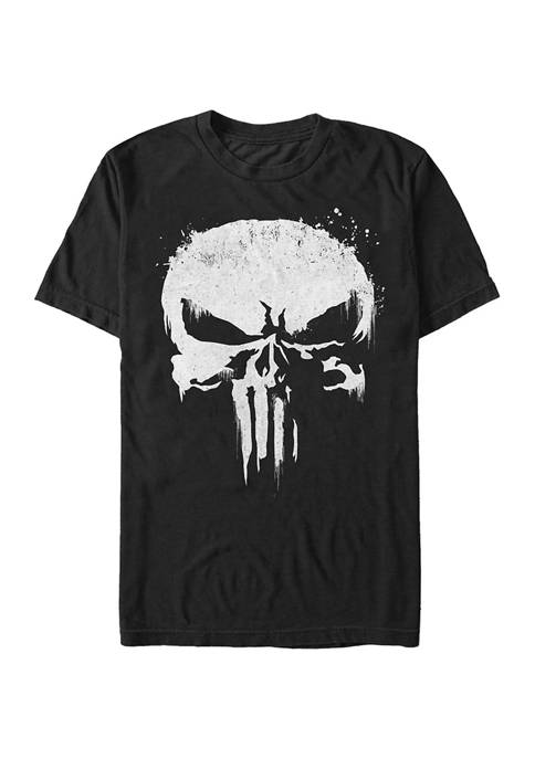 Marvel™ Big & Tall Marvel Punisher White-Out Graphic