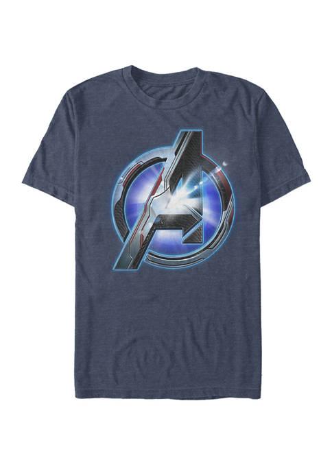 The Avengers Endgame Tech Logo Short Sleeve T-Shirt