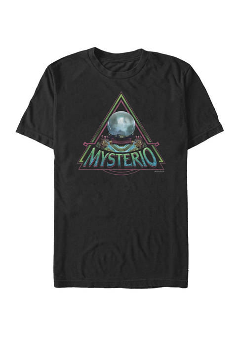 Spider Man Far From Home Mysterio Triangle Portrait Short Sleeve T-Shirt