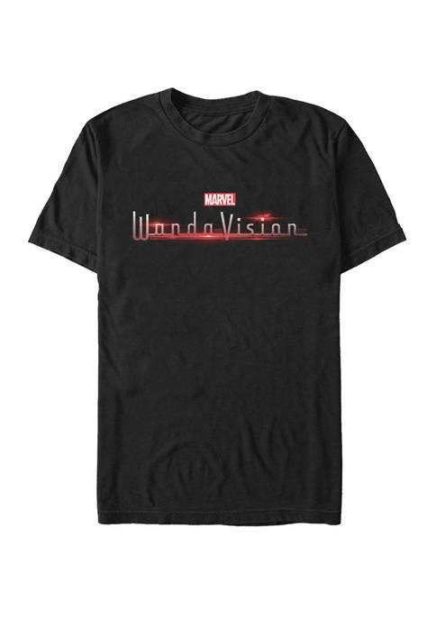 Big & Tall Wanda Vision Logo Short Sleeve Graphic T-Shirt