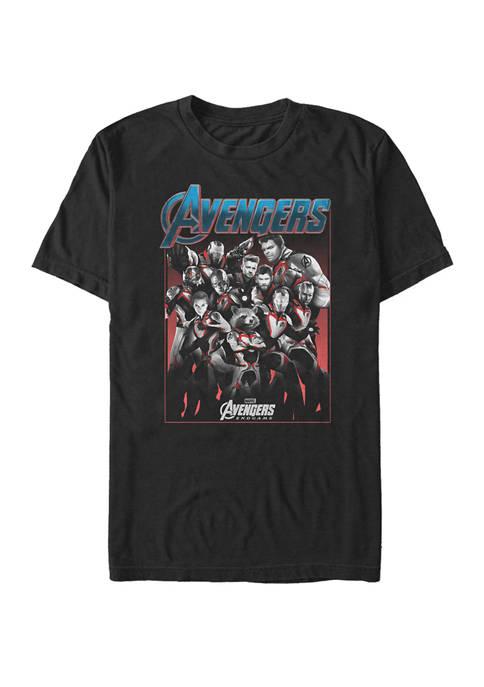 The Avengers Endgame Main Cast Group Shot Short