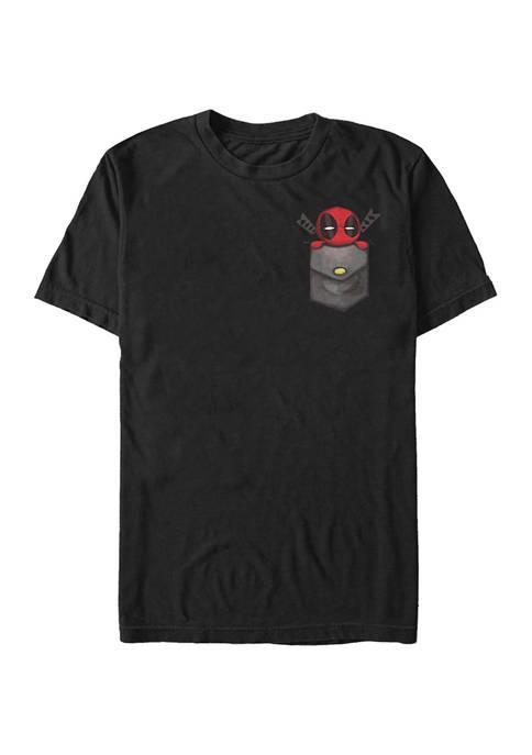 Big & Tall Marvel Deadpool Cutie Pie Graphic
