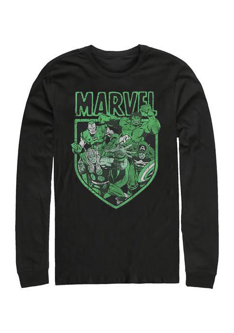Marvel™ Marvel Tonal Graphic Long Sleeve T-Shirt