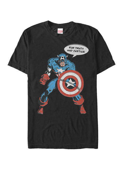 Marvel™ Retro Captain America Quote For Truth and