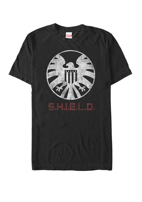 Marvel™ Agents of S.H.I.E.L.D Distressed Logo Short Sleeve