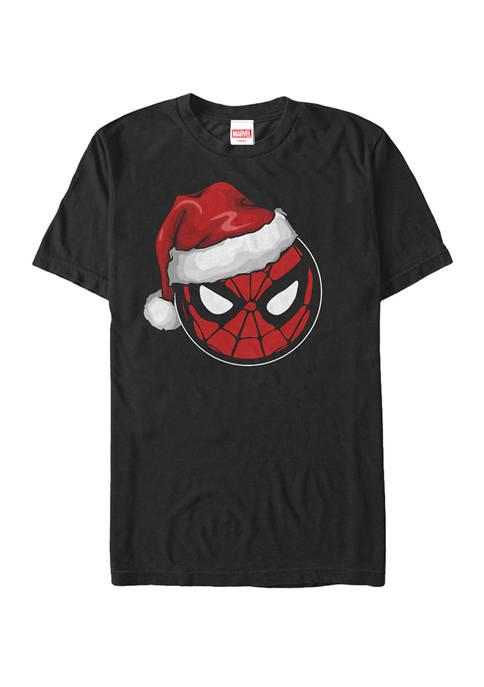 Spider-Man Big & Tall Spider Man Christmas Logo