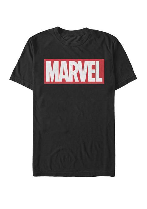 Marvel™ Classic Bold Logo Short Sleeve T-Shirt