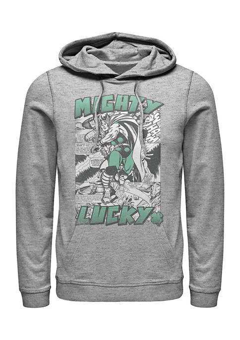 Marvel Mighty Lucky Thor Graphic Fleece Hoodie
