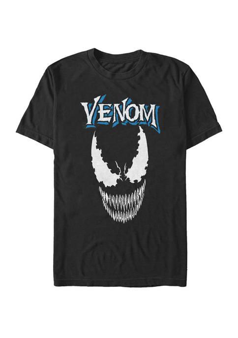 Big & Tall Classic Venom Big Face Short Sleeve Graphic T-Shirt