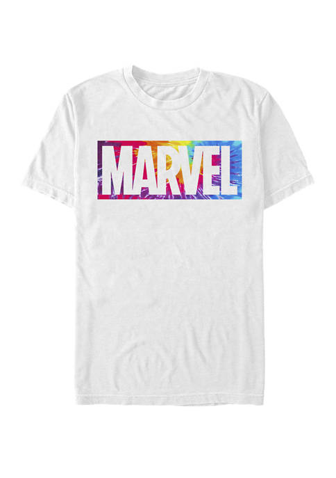 Tie Dye Explosion Logo Short Sleeve T-Shirt