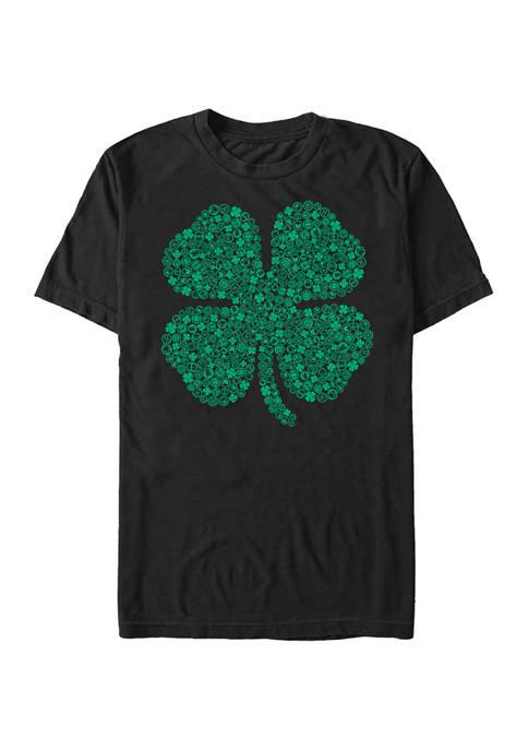 Marvel™ Marvel Shamrock Icon Graphic Short Sleeve T-Shirt