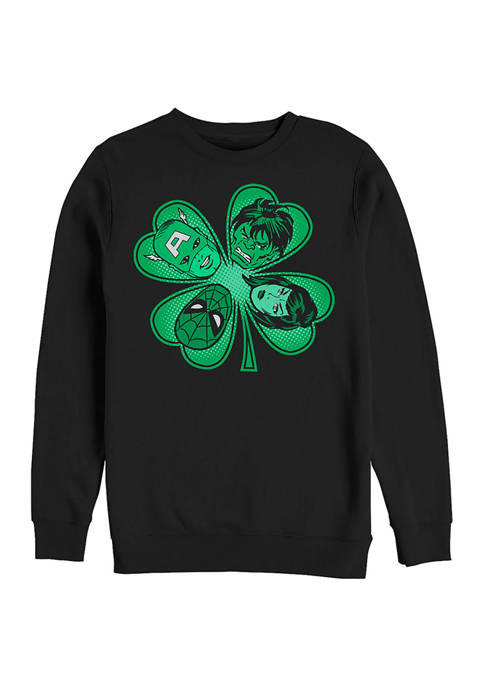 Marvel™ Marvel Lucky Retro Graphic Crew Fleece Sweatshirt