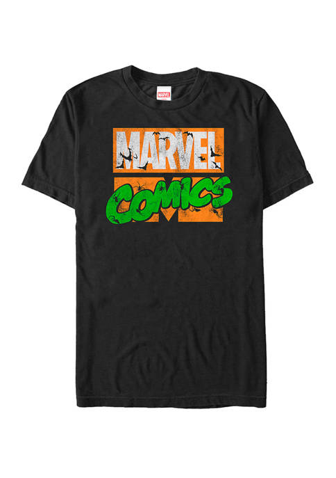 Marvel™ Big & Tall Comics Spooky Halloween Logo