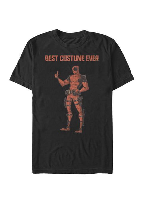 Big & Tall Deadpool Best Costume Ever Short