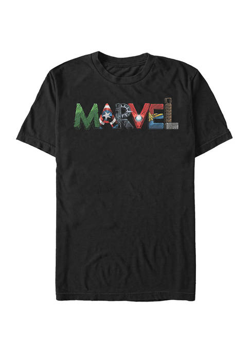 Marvel™ Big & Tall Marvel™ Fan Letters Graphic