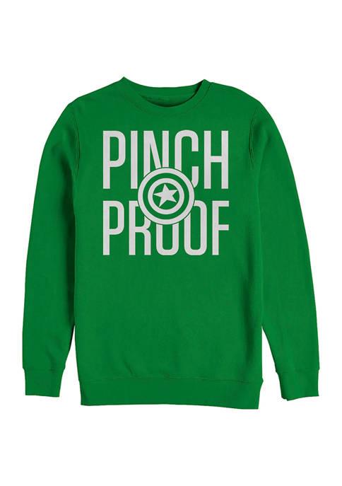 Marvel™ Marvel™ Cap Pinch Proof Graphic Crew Fleece