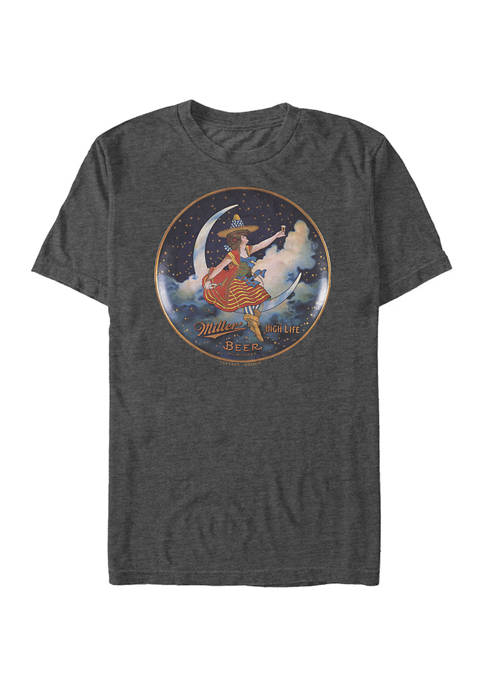 Miller Coors Brewing Company - Miller Moon Graphic Short Sleeve T-Shirt