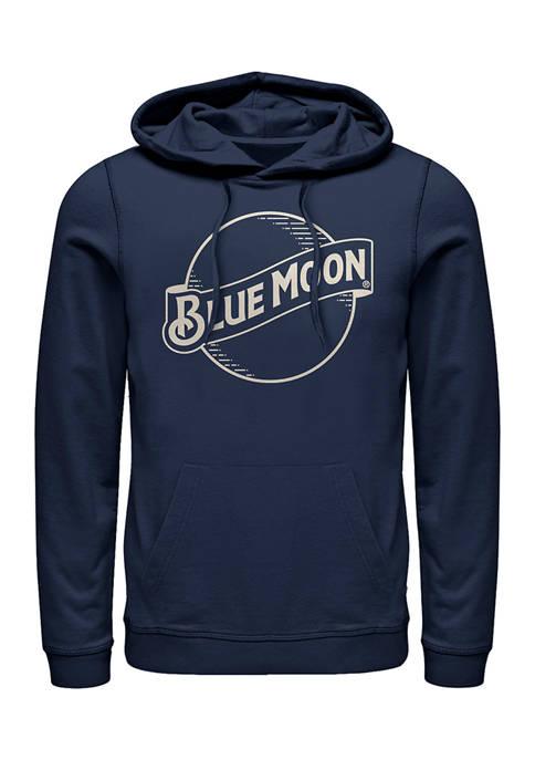 Fifth Sun™ Blue Moon Lines Graphic Fleece Hoodie